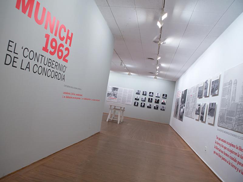 EXPOSICIÓN 'MUNICH 1962. EL CONTUBERNIO DE LA CONCORDIA'