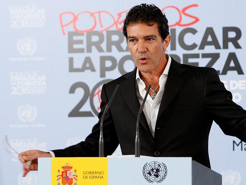 CAMPAÑA PNUD CON ANTONIO BANDERAS