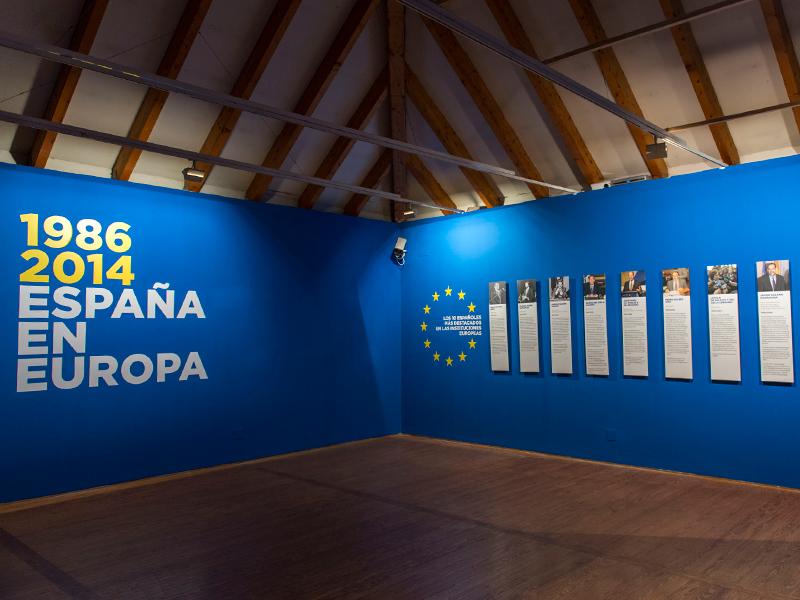 EXPOSICIÓN '1986-2014. ESPAÑA EN EUROPA'