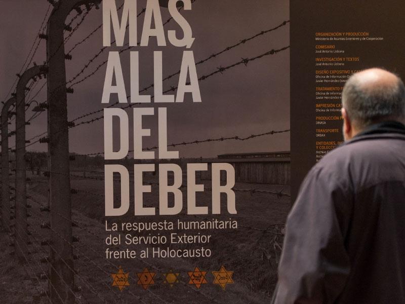 EXPOSICIÓN 'MÁS ALLÁ DEL DEBER'