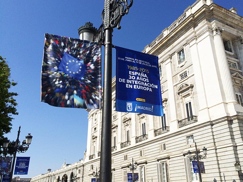 EXPOSICIÓN '1985-2015: ESPAÑA, 30 AÑOS DE INTEGRACIÓN EN EUROPA'